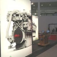 Our booth at SMM in the morning of 6th September before the visitors doors are opened.